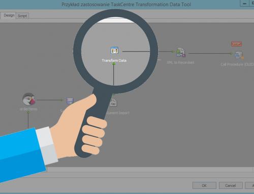 Transform Data przykład integracja prestashop